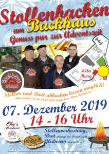 Stollenbacken am Backhaus